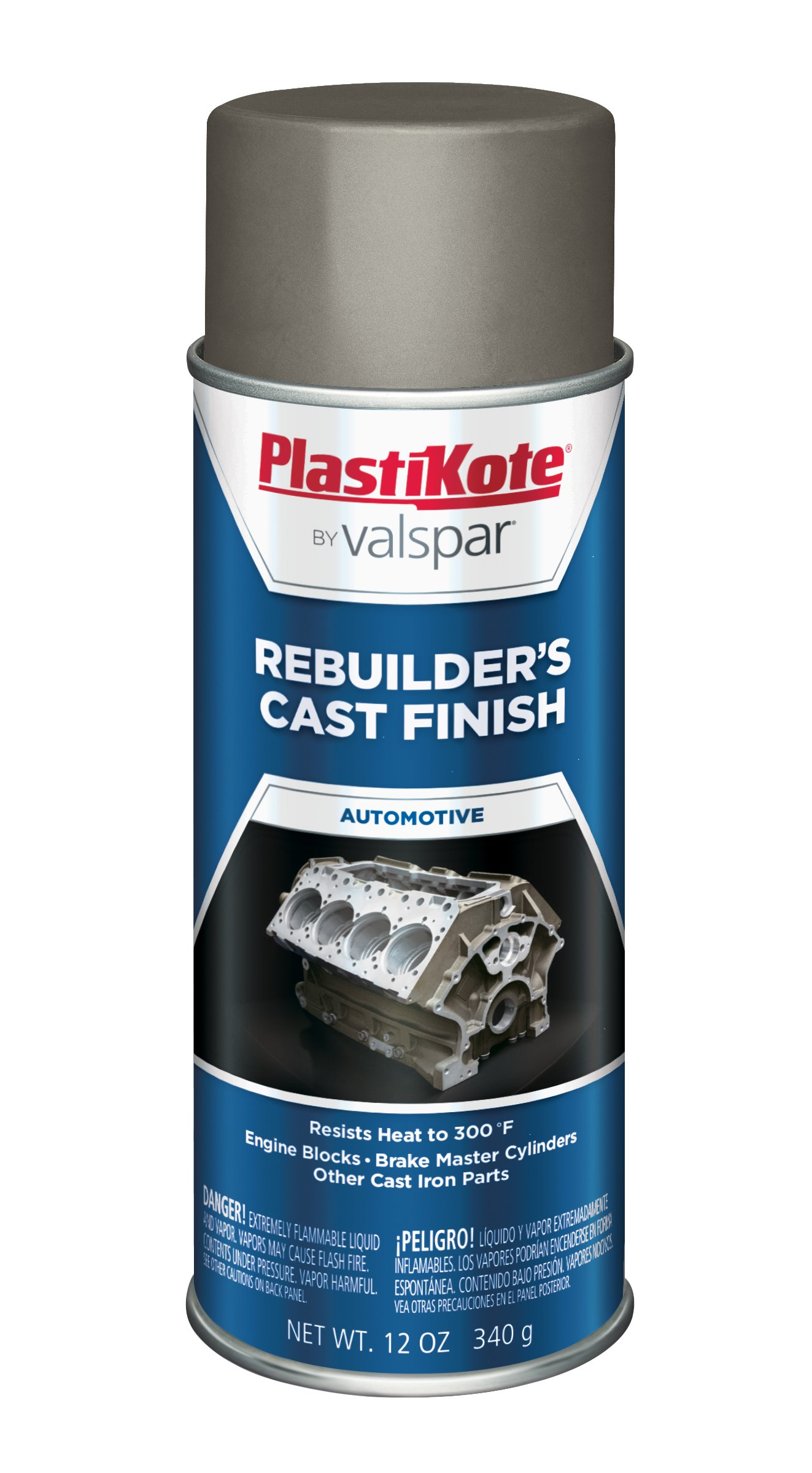 PlastiKote 285 Gray Rebuilders Cast Finish, 12 oz.