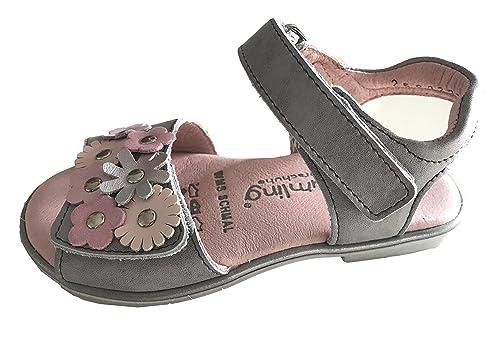 c74eff338 Helgas Modewelt 310161 - Sandalias de Vestir para Niña  Amazon.es  Zapatos  y complementos