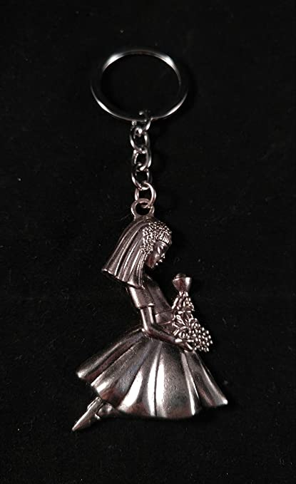 Amazon.com: Recuerdos de Primera comunion para Nina. (12) First Communion Memories (12) Party Pack keychain: Toys & Games
