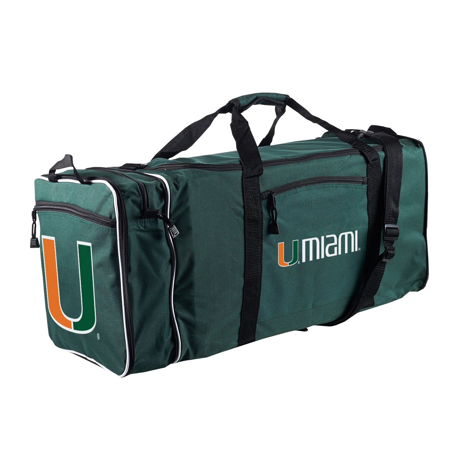 Officially Licensed NCAA Miami Hurricanes Steal Duffel Bag by The Northwest Company (Image #2)