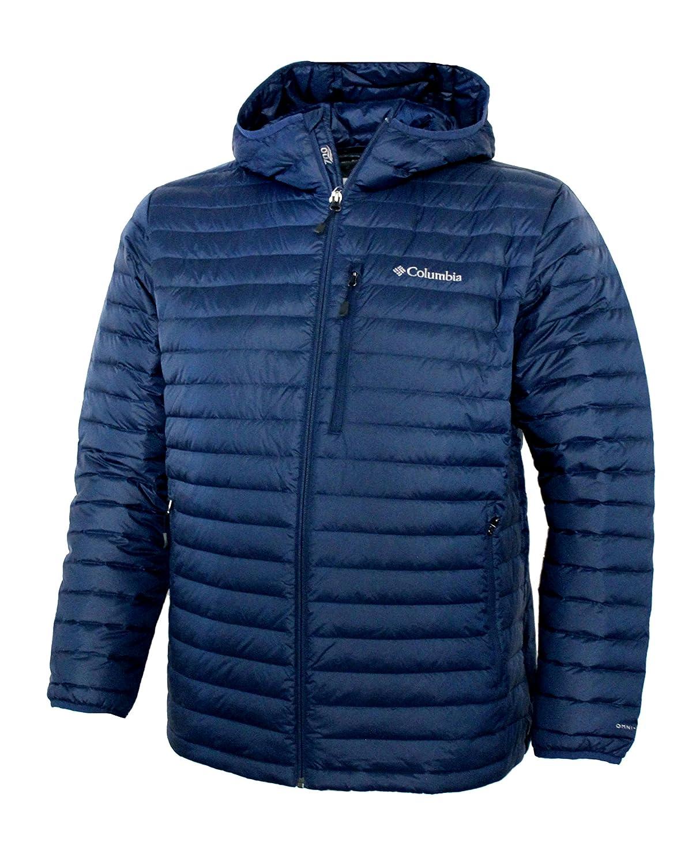 Columbia Men's Oak Apex Down Omni Heat Hooded Water Resistant Jacket