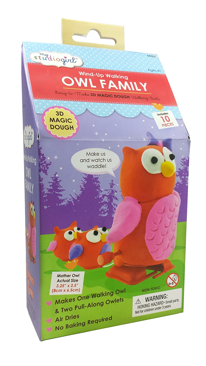 Wind-Up Walking Families Owl Family