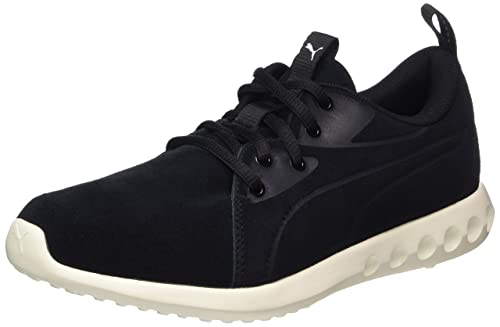 Unisex Adults Carson 2 Molded Suede Multisport Outdoor Shoes, Black/White, 10 UK Puma