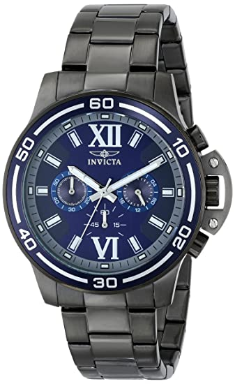 Invicta Mens 15061 Specialty Analog Display Japanese Quartz Grey Watch