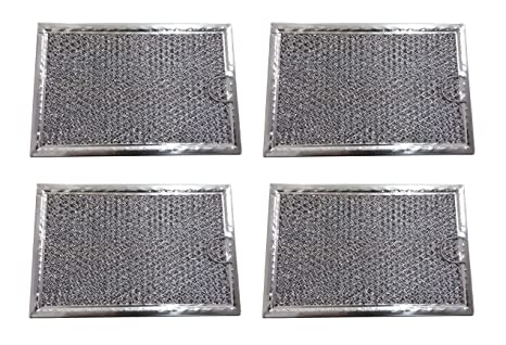 fyl Filtro de Grasa para Samsung microondas 5 x 7 5/8 (4 Pack ...