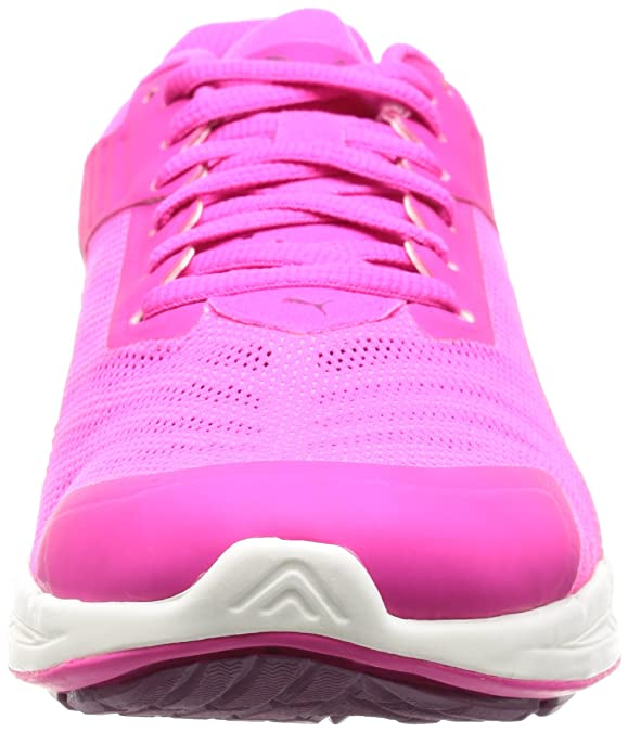 Puma Ignitev2Wnsf6 - Chaussures d'Athlétisme - Femme - Rose (Pink Glo-Magenta Purple 09) - 40.5 EU (7 UK) 4H6Gw8bx