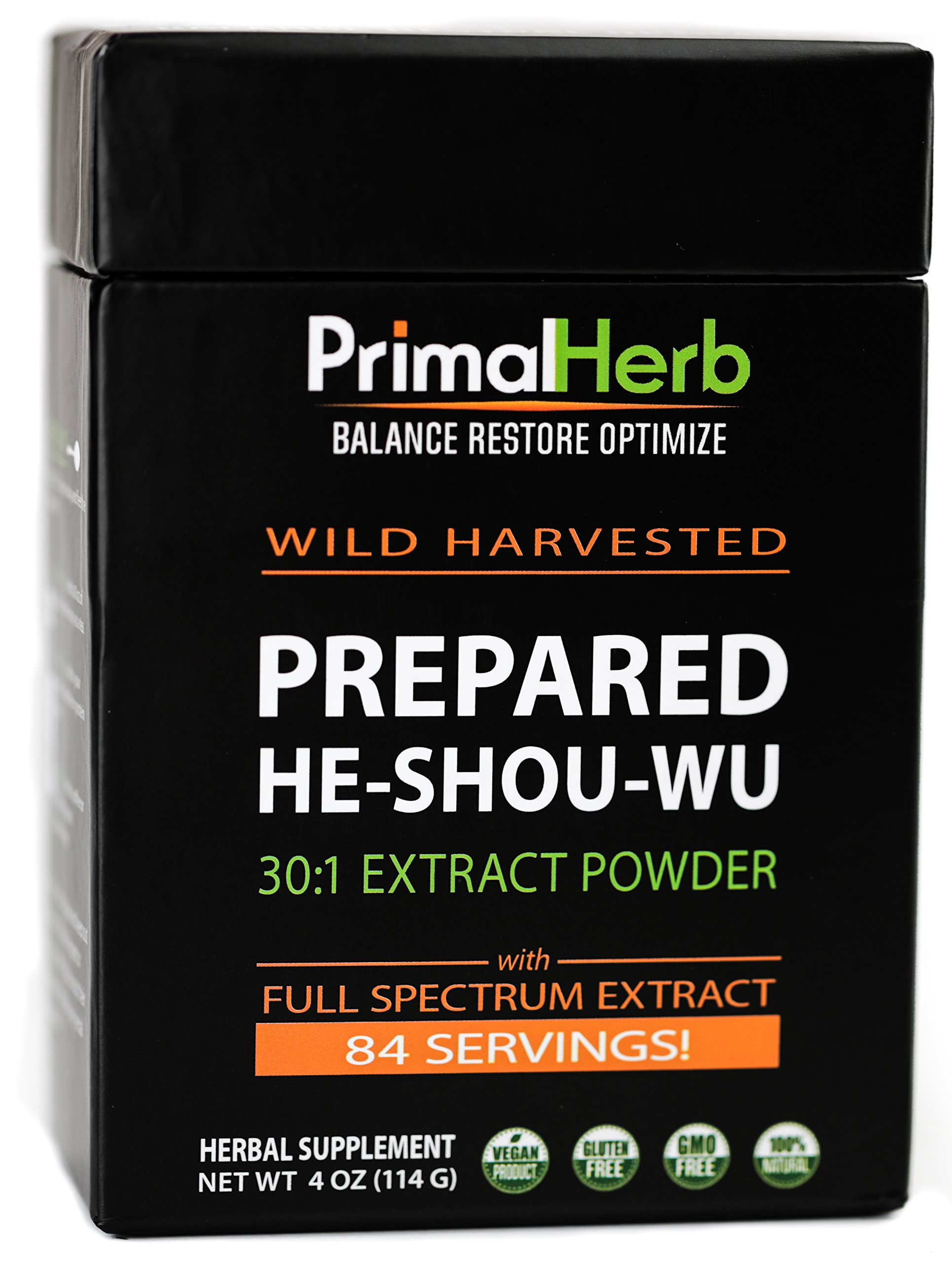 He Shou Wu Fo ti Root Extract Powder - by Primal Herb   Longevity Tea - 9e8a3772e7eb