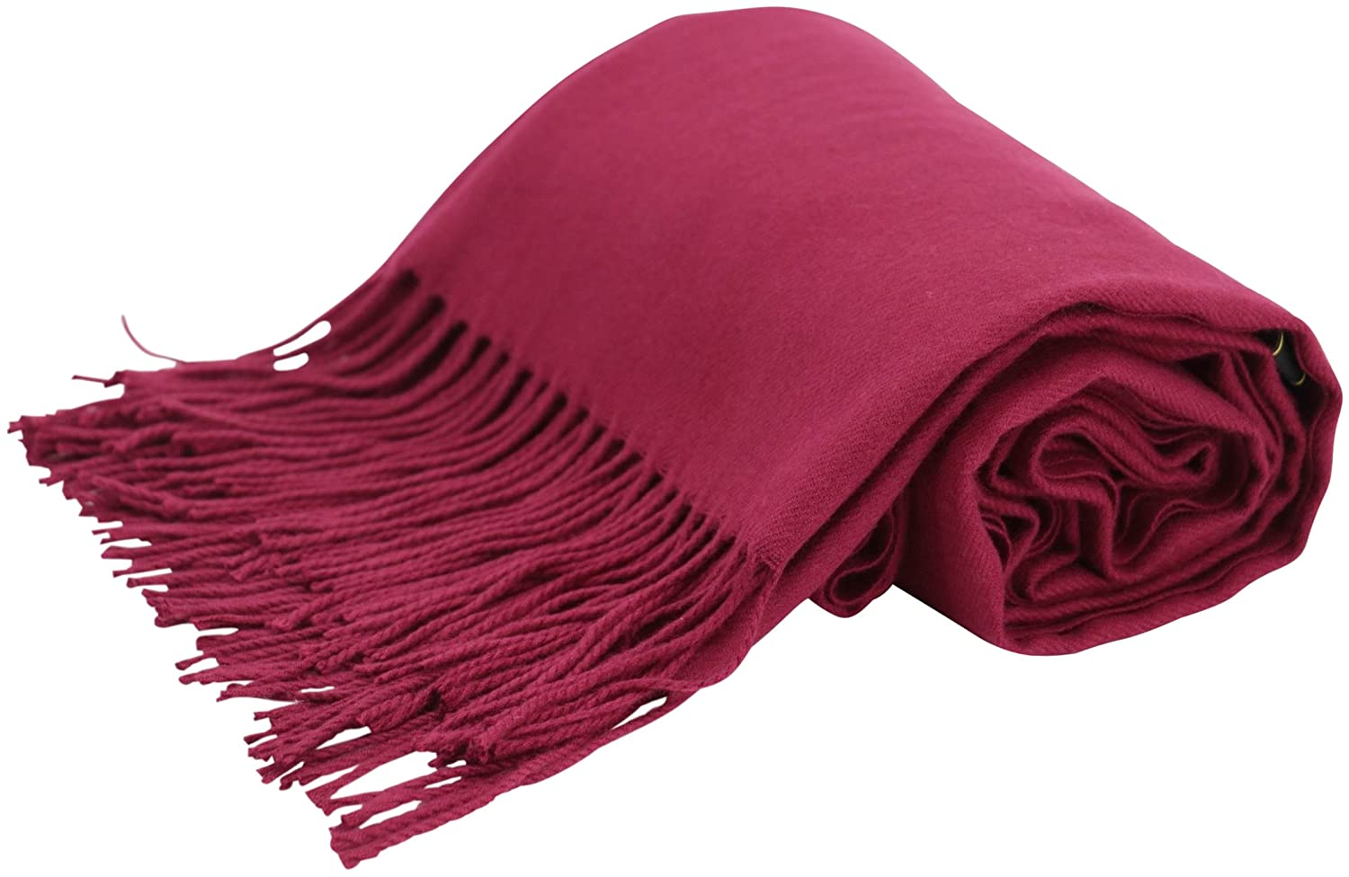 Thick Solid Color Design Cotton Blend Shawl Scarf Wrap Pashminas NEW CJ Apparel