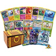 Golden Groundhog 100 Pokemon Card Lot with 2 200 HP Or Higher Pokemon GX Ultra Rares! Pokemon Foils! Includes Box!