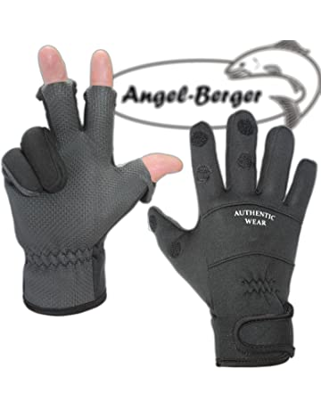 Handschuhe Bekleidung Handschuhe als Angelhandschuhe Anglerhandschuhe Arbeitshandschuhe 3-Finger