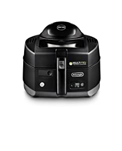 DeLonghi America FH1130 MultiFry, Air fryer and Multi Cooker, Black