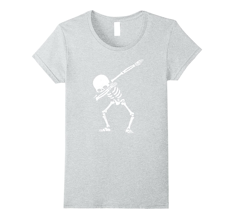 Dabbing Skeleton Shirt Shirts Medium-Awarplus