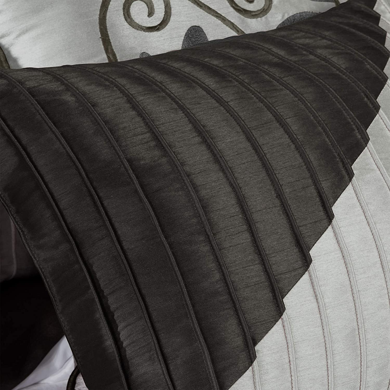 Madison Park Amherst 7 Piece Comforter Set Aqua Cal King