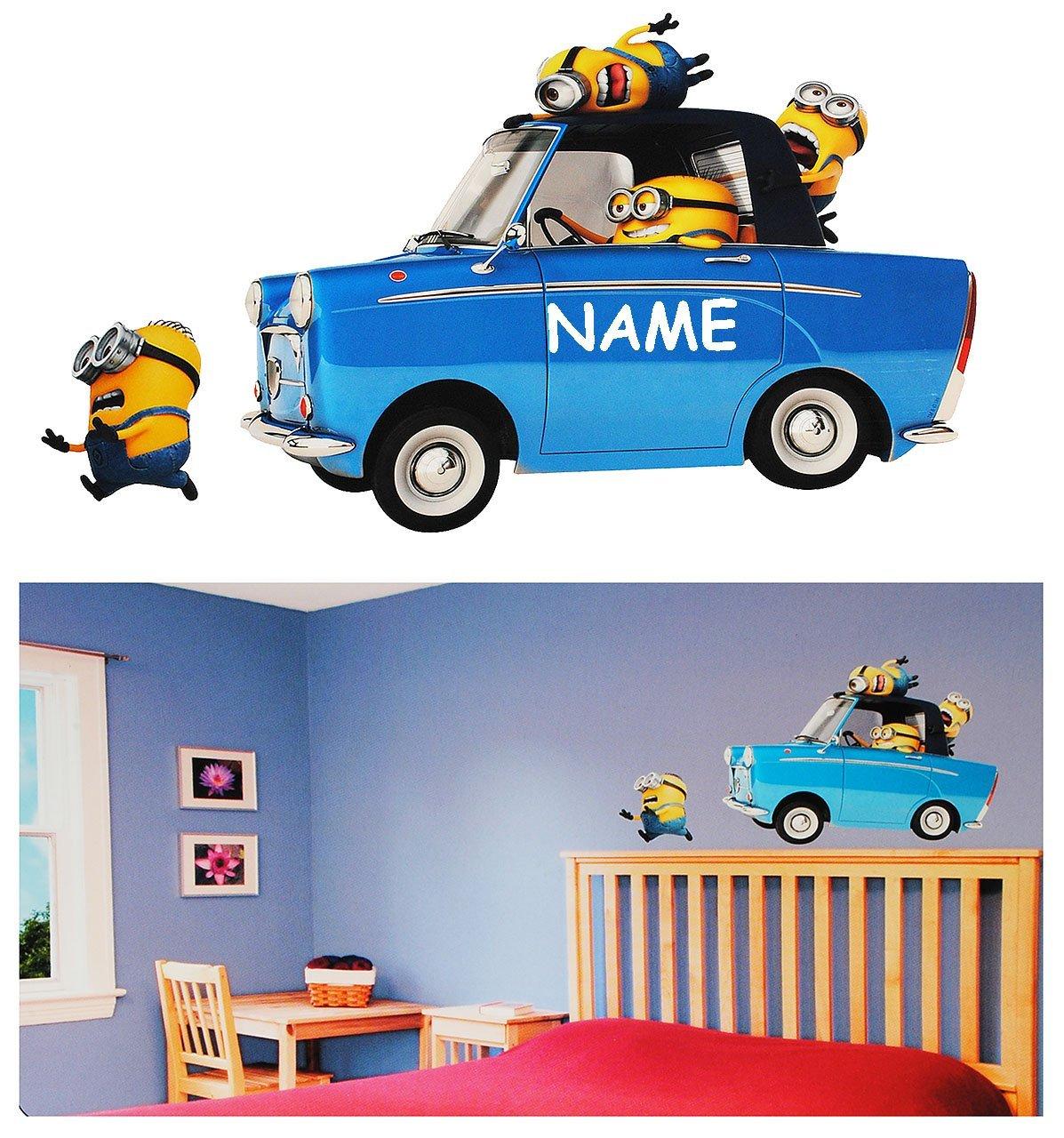 Gemütlich Aufkleber Kinderzimmer Auto Ideen - Die Designideen für ...