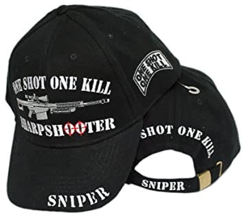 Image Unavailable. Image not available for. Color  mws One Shot One Kill  Sniper Sniping Baseball Cap Hat baaf7d3612c9