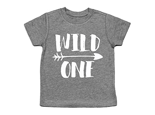 Wild One 1st Birthday Shirt First Top 6 Months