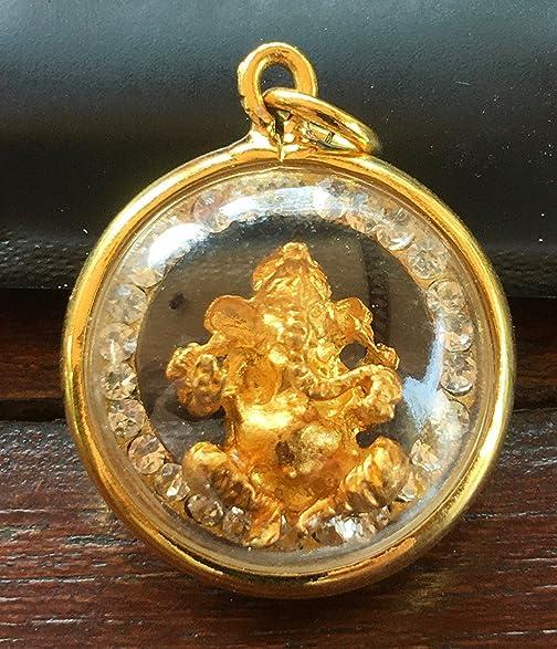 Amazon phra pikanet lucky amulet lord ganesha thai hindu sacred phra pikanet lucky amulet lord ganesha thai hindu sacred elephant god pendant jewelry elephant statue aloadofball Choice Image