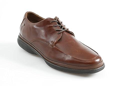 e6703411 Zapato de Piel Jarking 16 Hrs Confort Formal con Plantilla Acojinada para  Caballero Café 25