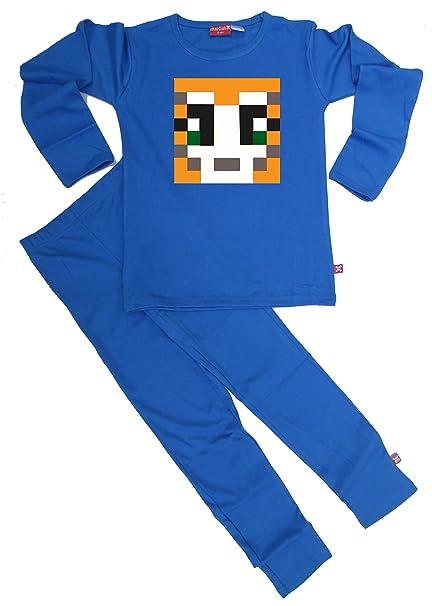 StampyLongNose de Luca Johnson Stampy Mr ropa de descanso para niñas de neopreno corto para niños pijamas para niños: Amazon.es: Ropa y accesorios