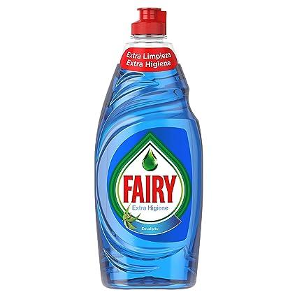 Fairy Extra Higiene Líquido para Lavavajillas Eucalipto ...