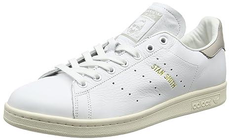 adidas Stan Smith, Zapatilla de Deporte Bajo El Cuello Unisex Adulto, Blanco (Footwear