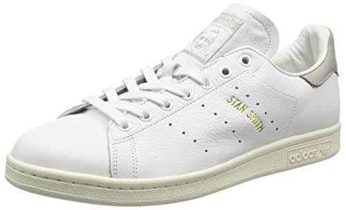 official photos 9e401 10211 adidas Stan Smith Unisex Adulto, Pelle Liscia, Sneaker Bassa, 36 2 3