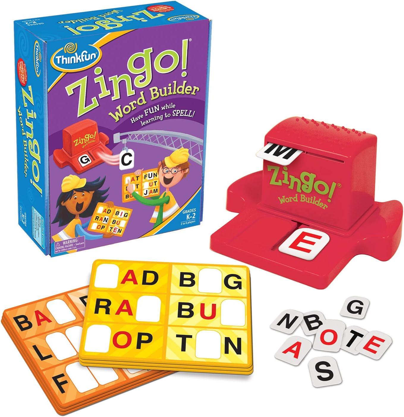 ThinkFun Zingo Word Builder Early Reading Game