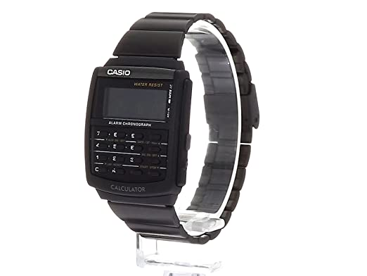 860cdd4f361 Relógio Masculino Calculadora Aço Inoxidável Casio CA506B-1A - preto   Amazon.com.br  Amazon Moda