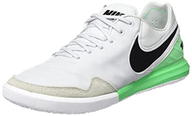 c81c8fdcb1cf Nike Men s Tiempox Proximo IC Football Boots (Pure Platinum Black-Electro  Green