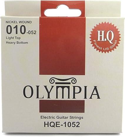 Olympia alta calidad cuerdas para guitarra eléctrica 10 – 52 de ...