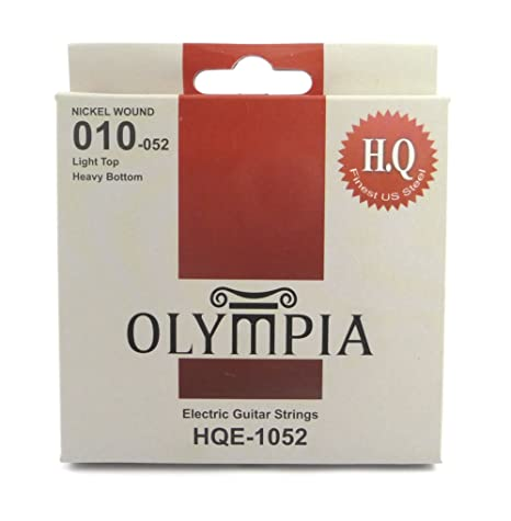 Olympia alta calidad Calibre de cuerdas para guitarra eléctrica, ...