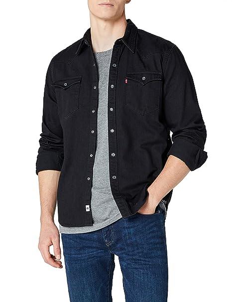 37b58a1b62 Levi s Men s s Barstow Western Casual Shirt  Amazon.co.uk  Clothing