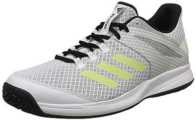 superior quality e382e 2a2fc Adidas Mens Adizero Club Oc Ftwwht, Sefrye, Cblack Tennis Shoes-7 UK