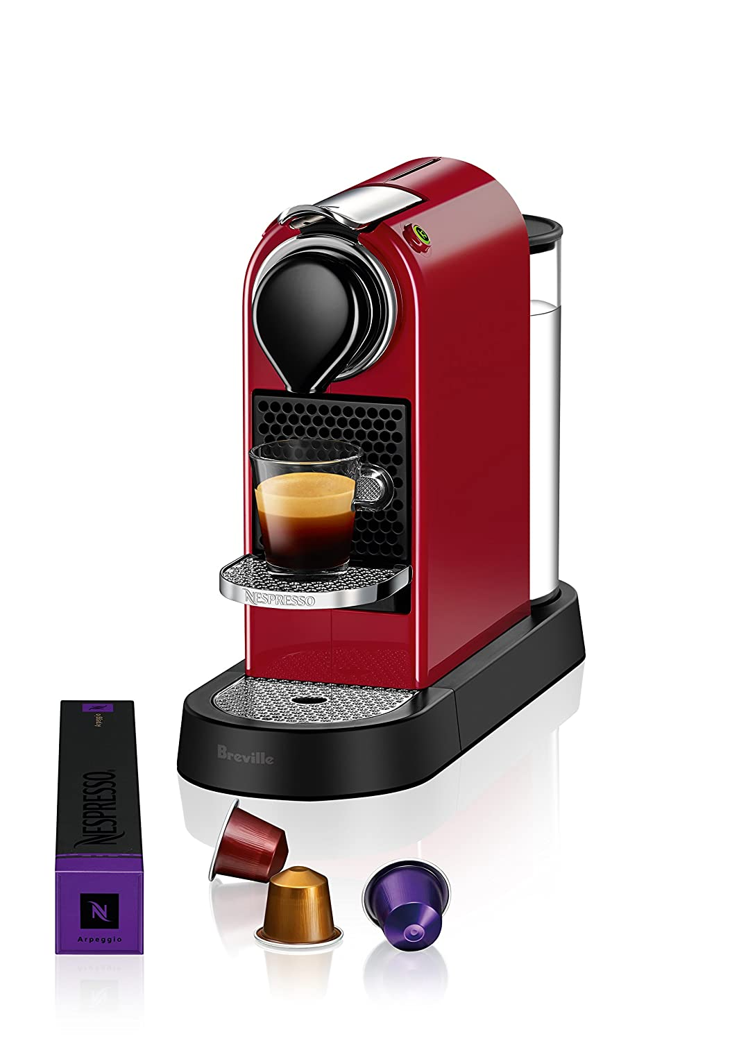 Breville-Nespresso USA BEC620RED1AUC1 CitiZ Espresso Machine, Red