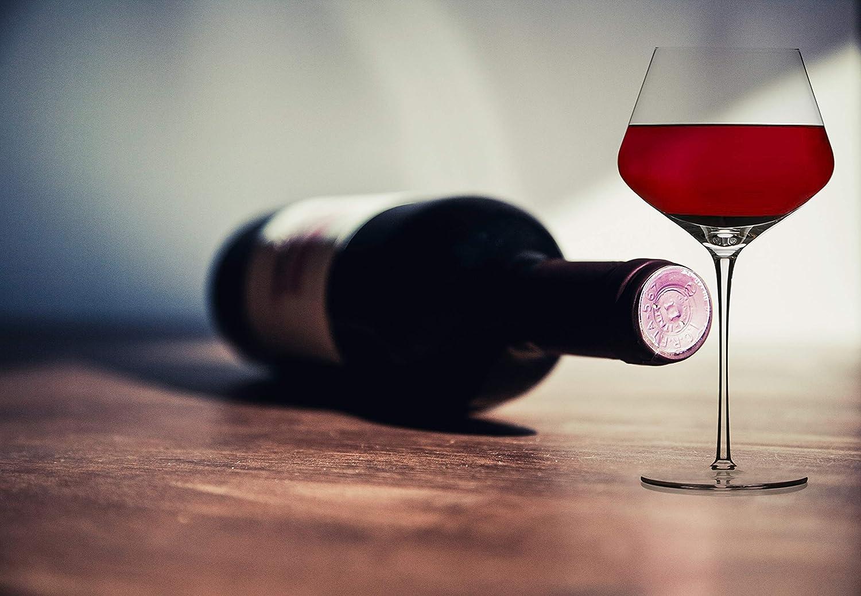 33OZ Holds a Full Bottle of Wine Chefoh Oversized Extra Large Stemware Wine Glass