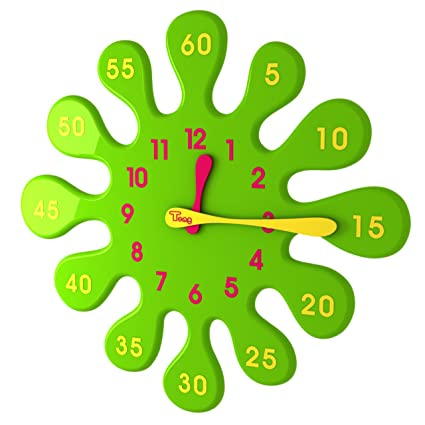 amazon com water drop clock green anyone can read the clock