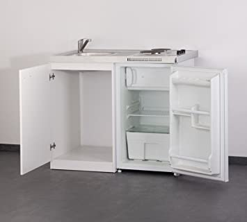 Singleküche miniküche  SET Mebasa MK0001 Küche inkl. Armatur, Miniküche, Singleküche in ...