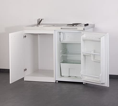 Set Mebasa Mk0001 Küche Inkl. Armatur, Miniküche, Singleküche In