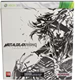 Metal Gear Rising: Revengeance Xbox 360 Limited Edition With Play Arts Kai White Raiden Figure
