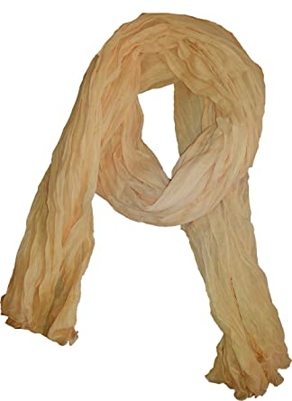 Double Chèche New Extra Long 3 M Scarf 100% Cotton beige  Amazon.co.uk   Clothing 366b5a2520a