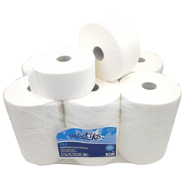 Papel Higienico Industrial Pasta Laminado (Pack 18 unidades): Amazon.es: Industria, empresas y ciencia