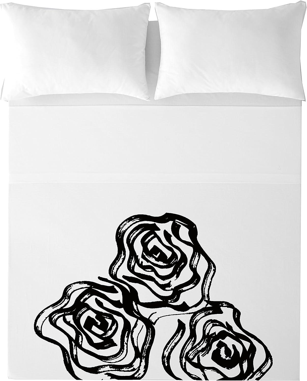 Devota & Lomba Rosas Juego de sábanas, Algodón, Multicolor, 150 x ...