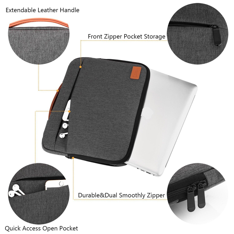 61936e081b Lifeasy Pochette Ordinateur Portable avec Poignée Cachée Sacoche Laptop  Housse 13-14Pouce,Étui Antichoc Étui de Transport Antichoc pour Lenovo Acer  Sony HP ...