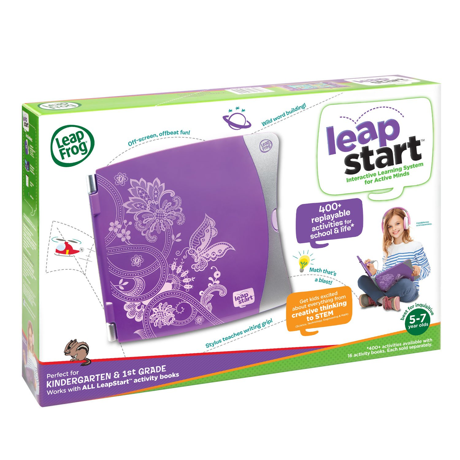 LeapFrog LeapStart Interactive Learning System Kindergarten and 1st Grade Amazon Exclusive by LeapFrog (Image #6)