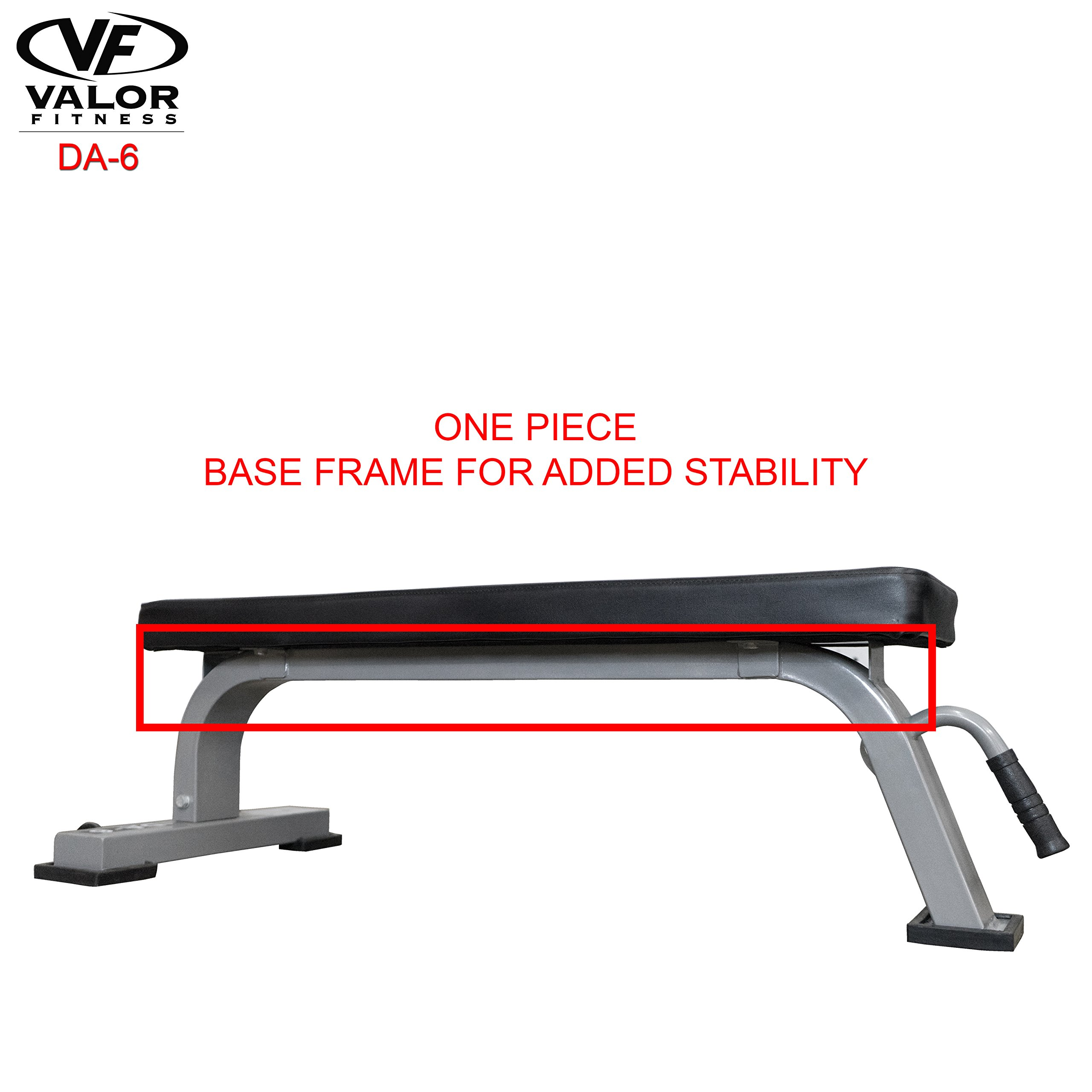 Valor Fitness DA-6 Flat Bench by Valor Fitness (Image #4)