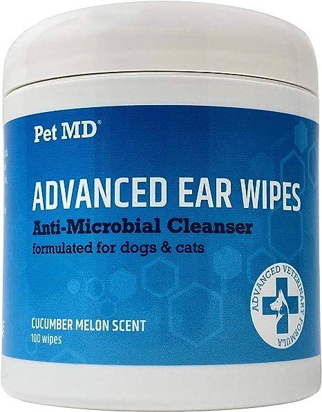 Amazon.com: Pet MD - Toallitas limpiadoras para orejas de ...