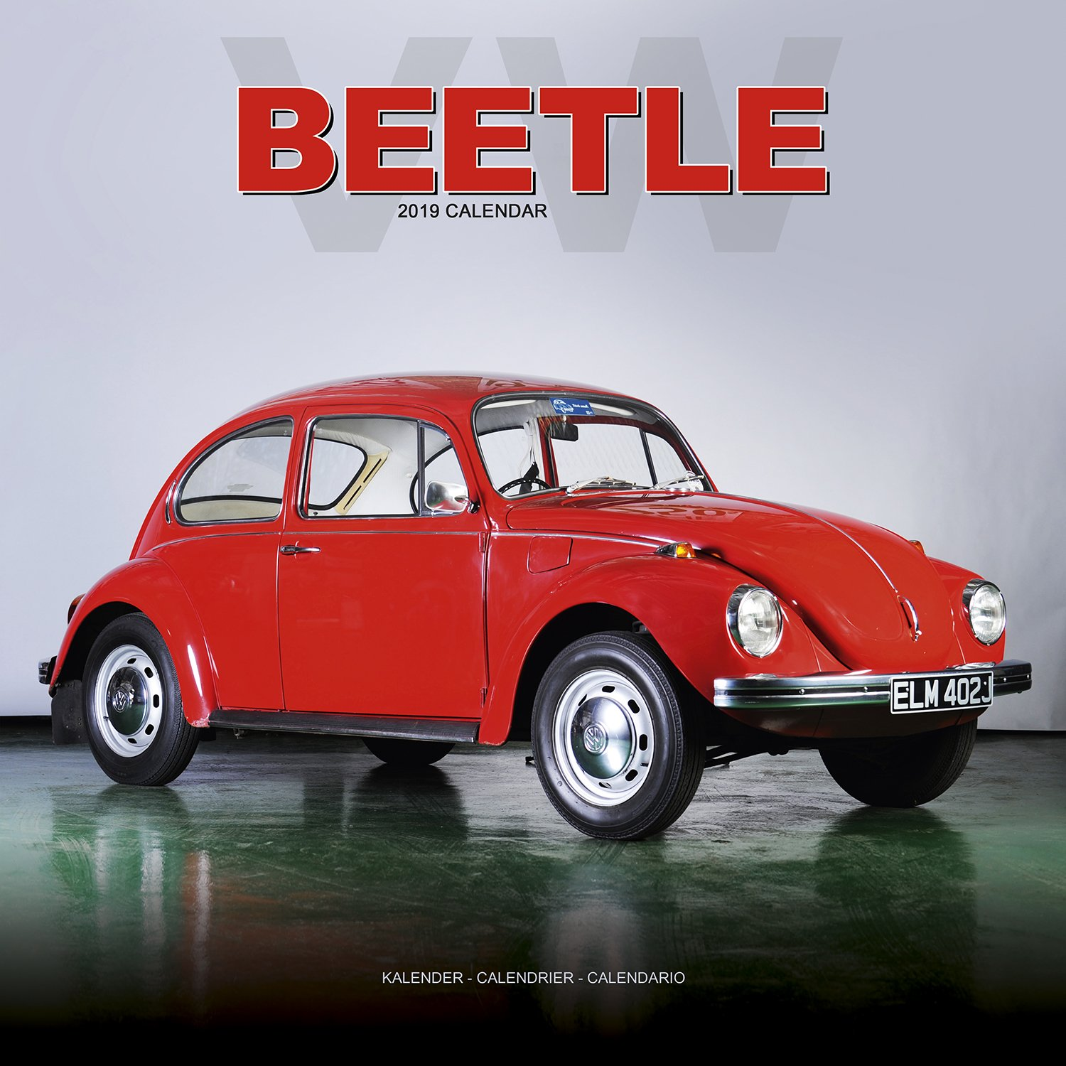 VW Beetle Calendar- Calendars 2018 - 2019 Wall Calendars - Car Calendar - Automobile Calendar - Beetle 16 Month Wall Calendar by Avonside Calendar – July 6, 2018 MegaCalendars Avonside Publishing LTD 1785804421 Art