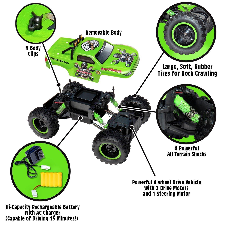r c rock crawler 1 12 scale radio control 4x4 wheel