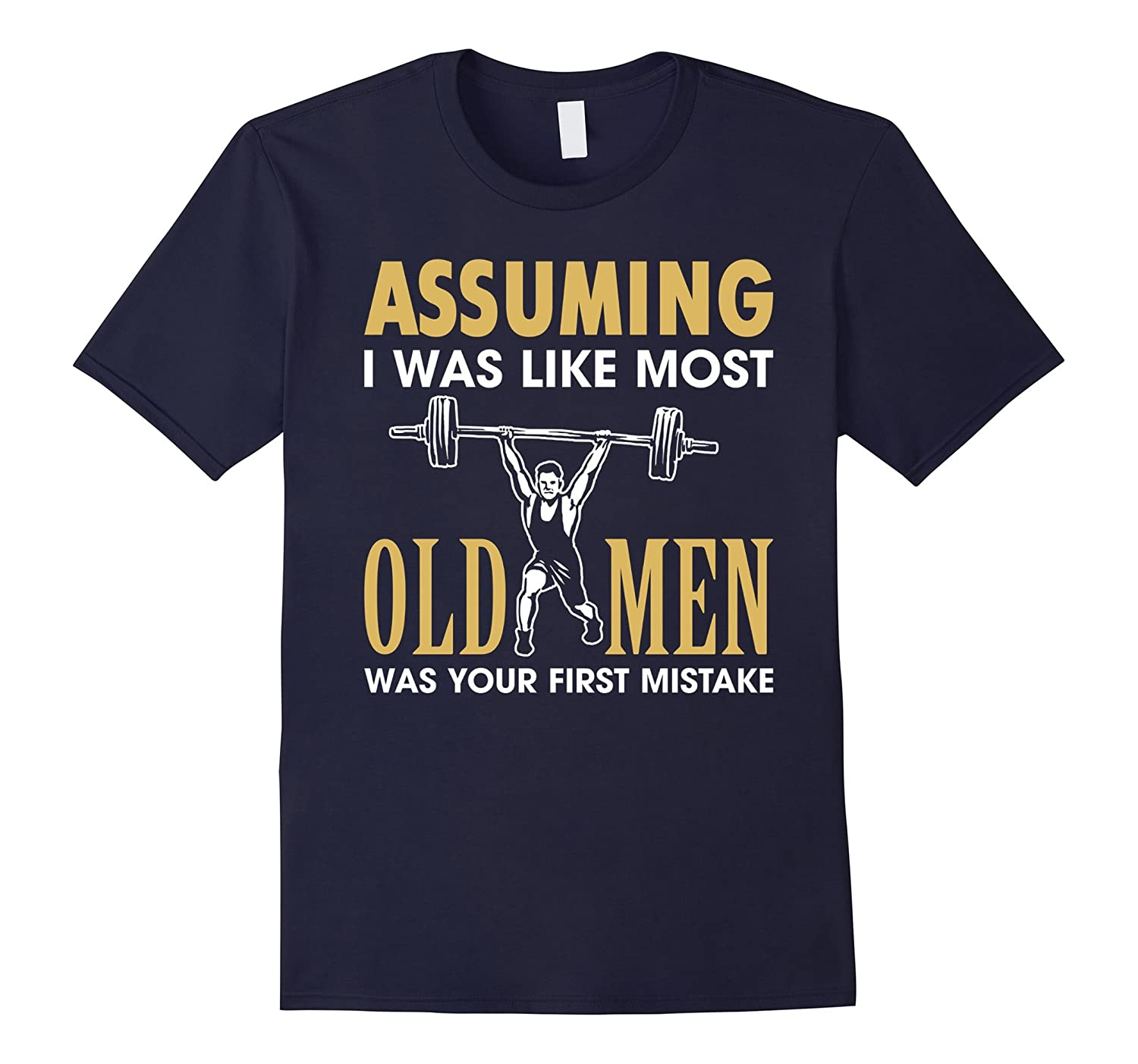 Weightlifting Shirts for Men Your Mistake T-Shirt Lifting Te-TD