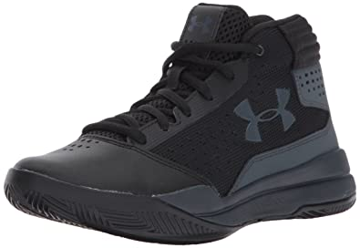 detailed look d7038 9dee6 Under Armour Boys  Grade School Jet 2017 Basketball Shoe Black (001) Rhino